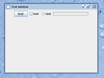Simple window screenshot