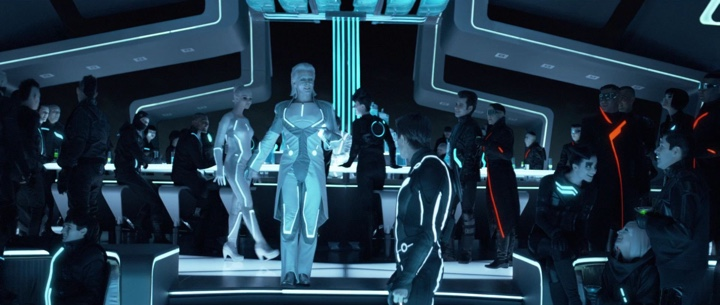The Colors Of Tron Legacy 183 Pushing Pixels
