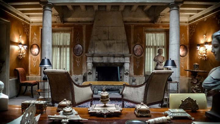 Production design of Hannibal interview with Matthew Davies